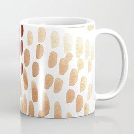 Colorful City Dots Abstract Painting Coffee Mug