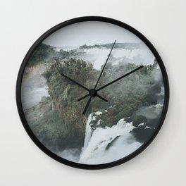 Iguazu Falls III Wall Clock