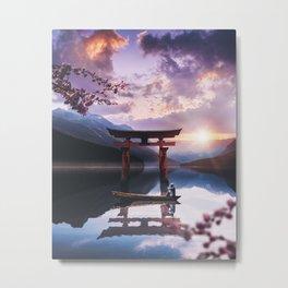 The Gate Metal Print