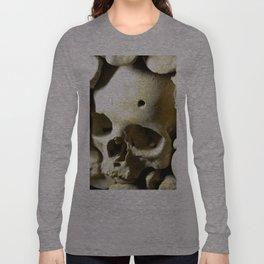 skull hole Long Sleeve T-shirt