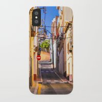 spain iPhone & iPod Cases featuring Spain by Nskey