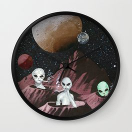 Star Blazin Wall Clock
