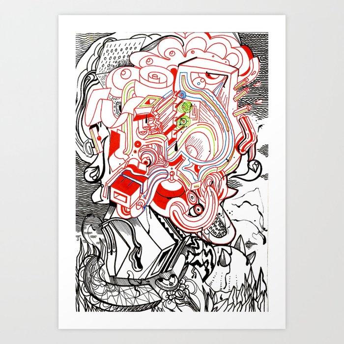 Die-Nasty Art Print