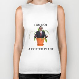 Not A Potted Plant Biker Tank