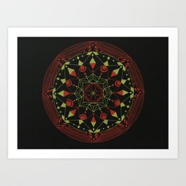 Color combo #2 Art Print