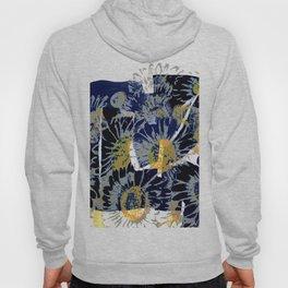 daisies on astract bakground Hoody