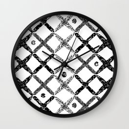 Brush Wall Clock
