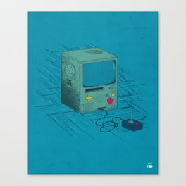 Old Video Game Console Canvas Print