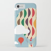 ballon iPhone & iPod Cases featuring hot air ballon by BruxaMagica_susycosta
