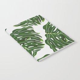 Monstera Pug Notebook