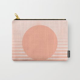 The Sweet Life Collection - Peach Coral Sun Gradient Carry-All Pouch