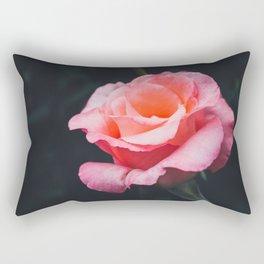 Night Rose Rectangular Pillow