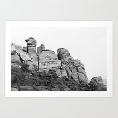 Hidden Valley Guards Art Print