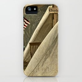 Army Chaplain iPhone Case