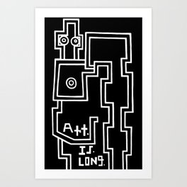 Art. is. ... Art Print