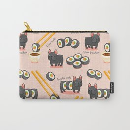 French bulldog maki sushi Carry-All Pouch