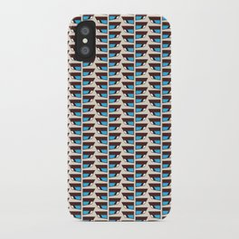 Duck wings surface patterns iPhone Case