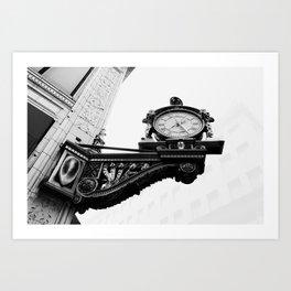 Kaufmann's Clock in Pittsburgh Art Print