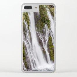 McArthur-Burney Falls Clear iPhone Case