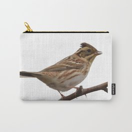 Rustic Bunting Bird Vector Isolated Carry-All Pouch