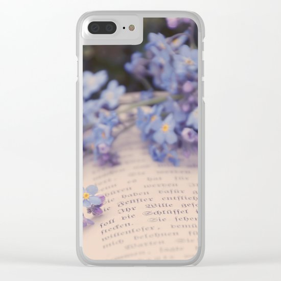 They are not your friends until they have defended you in your absence. Clear iPhone Case