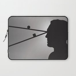 The Prisoner is Being Tested Laptop Sleeve