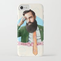 montana iPhone & iPod Cases featuring Mr. Montana by keith p. rein