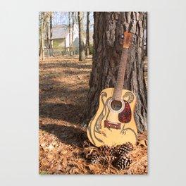 Feral Guitar Canvas Print