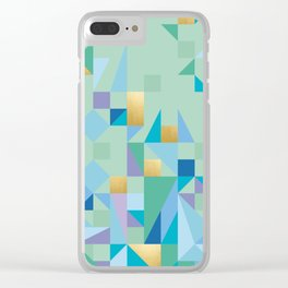 Yoga Quilt Clear iPhone Case
