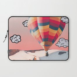 Hot Air Balloon In The Mountains Laptop Sleeve