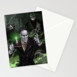 """Zacherley """"The Cool Ghoul"""" Stationery Cards"""
