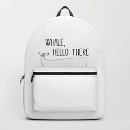 Funny Whale, Hello There Backpack