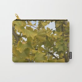 Ginkgo Biloba Tree Carry-All Pouch