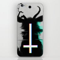 cross iPhone & iPod Skins featuring cross by s a Lieske