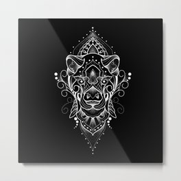 Leoa Mandala Metal Print