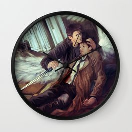 Supernatural Protecting something so Holy Wall Clock