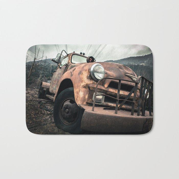 Rusty Road Bath Mat