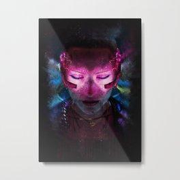 CYBERVIBE 6 Metal Print