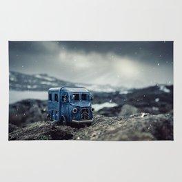 Little cars, Big Planet (Snow) Rug