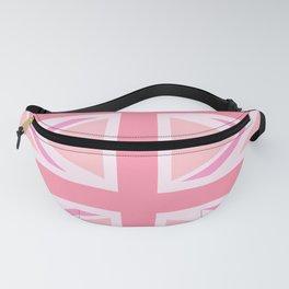 Pink Union Jack/Flag Design Fanny Pack