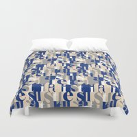 military Duvet Covers featuring Military by antonio&marko