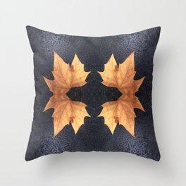 Organic -  Autumn Throw Pillow