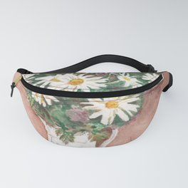 Still Life of Daisies Fanny Pack