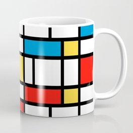 Mondrian design, abstract pattern Coffee Mug