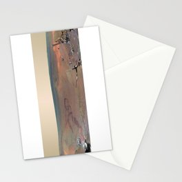 Martian Winter on Mars by Planet Prints Stationery Cards