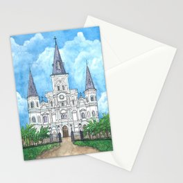 Jackson Square, New Orleans Stationery Cards