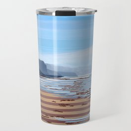 Jalama Beach Landscape Travel Mug