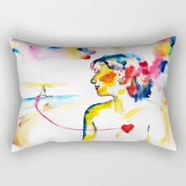 Sentimento trasno Rectangular Pillow