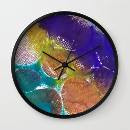 Abstract No. 419 Wall Clock