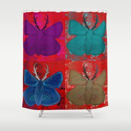 Stagerfly Collage Shower Curtain